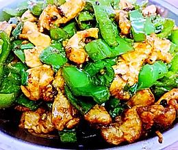 青椒炒鸡胸脯肉的做法