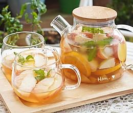 蜜桃柠檬红茶的做法