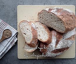 亚麻籽黑麦乡村面包的做法