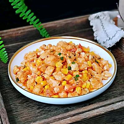 低脂茄汁鸡胸肉