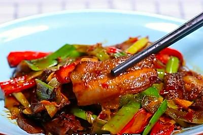 BTV《暖暖的味道》之健康少油的升级版回锅肉