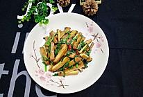韭菜炒香干#舌尖上的春宴#的做法