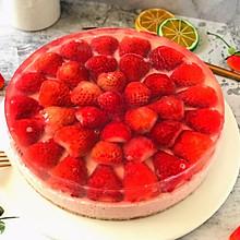 #百变水果花样吃#双层草莓芝士慕斯蛋糕