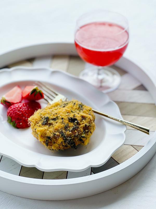 ‼️在家就可以做的网红小甜品肉松海苔小贝