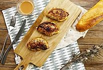 蜂蜜蒜香芝士猪排|太阳猫早餐的做法