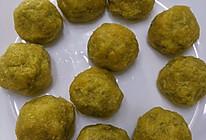 超低脂萝卜丝虾皮馅的玉米面菜团子的做法