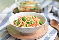 田园糙米饭的做法