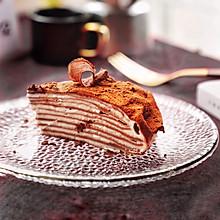 减肥也能吃,低热量山药可可千层蛋糕#令人羡慕的圣诞大餐#