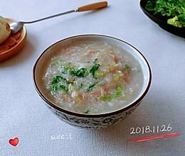 小白菜姜萝胡粥的做法