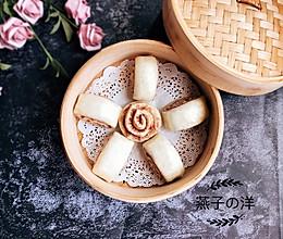 #父亲节,给老爸做道菜#【蒸】豆沙馒头卷的做法
