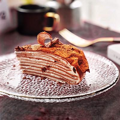 减肥也能吃,低热量山药可可千层蛋糕
