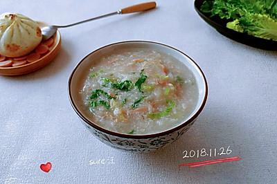小白菜姜萝胡粥