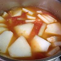 番茄金针菇冬瓜汤的做法图解4