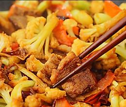干锅花菜|二叔食集的做法