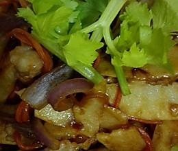柱候酱淮山炒猪颈肉的做法