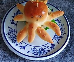 章鱼汉堡包的做法