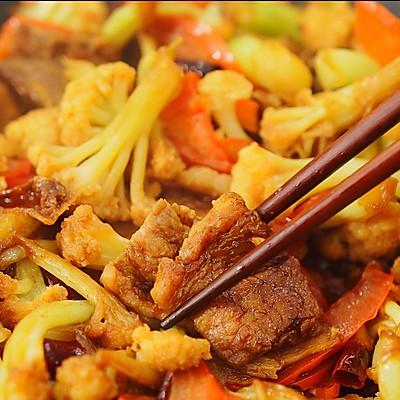 干锅花菜 二叔食集