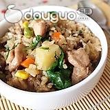 美味懒人餐—家乡鸡炖饭
