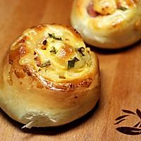 #东菱魔力果趣面包机之_培根芝士面包的做法图解18