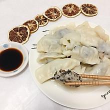 木耳肉末饺子