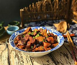 #一道菜表白豆果美食#五花肉烧冬笋尖的做法