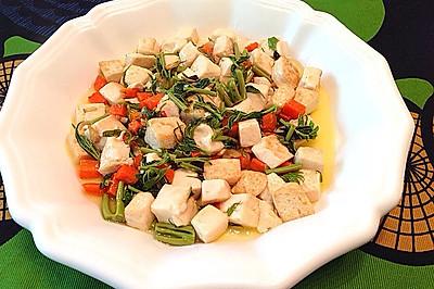 香椿烧豆腐