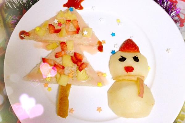 圣诞儿童餐之水果开会的做法