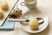 【卡通冰皮月饼(椰香奶黄馅)】超级懒人法冰皮的做法