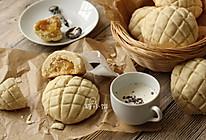 【菠萝夹馅菠萝司康】菠萝夹心+菠萝酥皮的做法