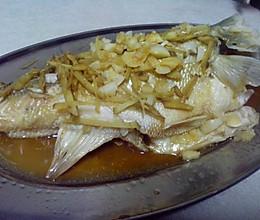 美味不可阻挡——清蒸豉香鲈鱼的做法