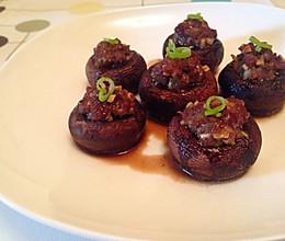 猎奇牛排菇(褐菇)——菇盏的做法