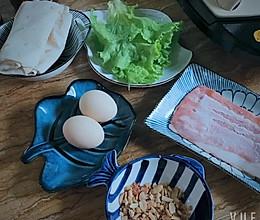 快手鸡蛋饼,几分钟搞定早餐的做法