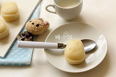 【卡通冰皮月饼(椰香奶黄馅)】超级懒人法冰皮
