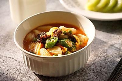 陕西风味—烩麻食