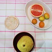 冰糖炖雪梨金桔西柚的做法图解1