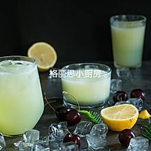 夏日超级清爽蜜桃与青瓜