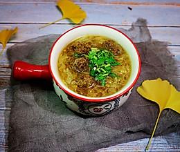 牛肉丸粉丝汤(附调肉馅的独家配方)的做法