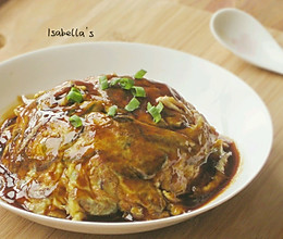 身世成谜  来自日本的【天津饭】的做法