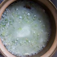 西兰花香菇鸡肉粥
