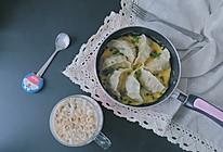 鸡蛋煎饺or鸡蛋抱饺的做法