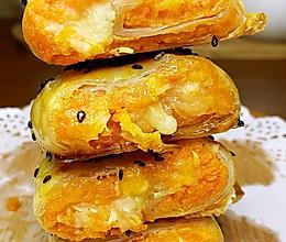 手抓饼的花样吃法:奶香红薯酥的做法