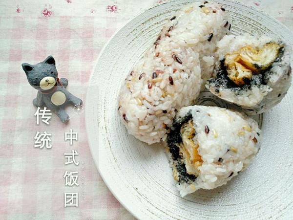 ♡传统中式饭团♡的做法