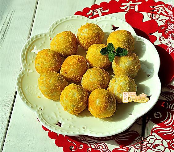 经典汤圆四种花样吃法之二——外酥里糯黄金汤圆的做法