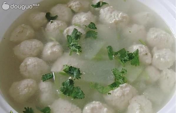 鸡肉丸子汤的做法
