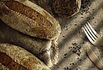 无油无糖全麦芝麻面包的做法