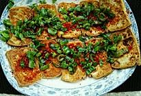 油煎香葱豆腐的做法