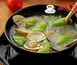 蛤蜊丝瓜汤#舌尖上的春宴#的做法