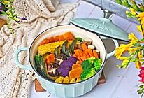 #换着花样吃早餐#健康低脂的粗粮蒸菜的做法