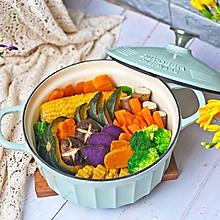 #换着花样吃早餐#健康低脂的粗粮蒸菜