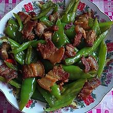 五花肉炒尖椒